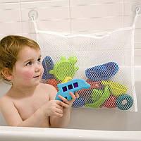 Органайзер для детских игрушек Toys bag Medium на присосках в ванную, фото 1