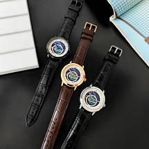 Оригінальні наручні годинники Megalith 8213M Brown-Cuprum-White | Оригінал Мегаліт, фото 3