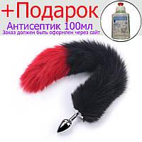 Анальний хвіст Rainjack Чорний, червоний