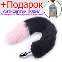 Анальний хвіст Rainjack Чорний, рожевий