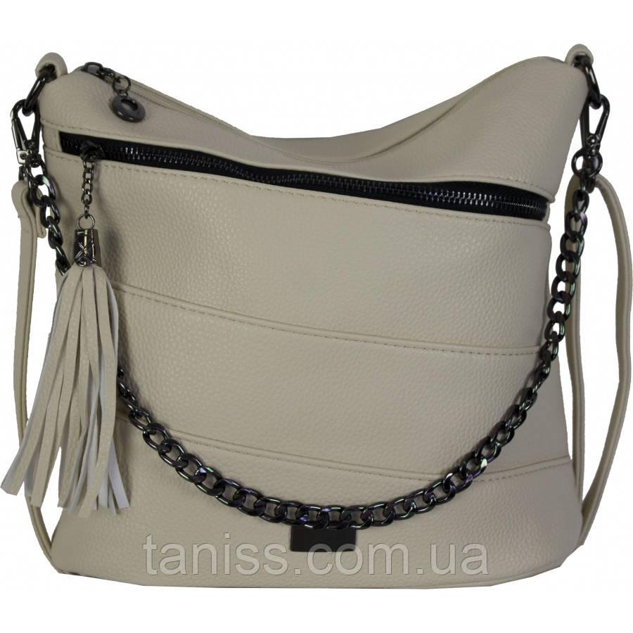 Женская,стильная,сумка, клатч,материал эко-кожа. длинная ручка,3 отделение,декор цепочка(81138)