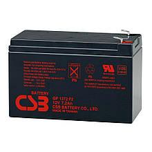 Батарея (Акумулятор) 12V 7.2 Ah 28W CSB GP 1272 F2 нова