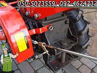 Мотоблок Форте дизель 12 л/с (с электростартером, плугом, грунтофрезой и третьим колесом с сидением)