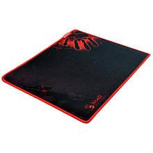 Килимок для миші ігровий 350*280*4мм A4Tech Bloody B-081 текстур. поверхня тканини прошитий чорний з