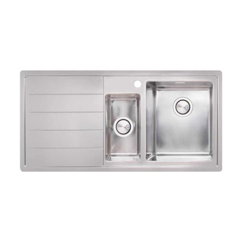 Кухонная мойка Apell Linear Plus LNP1002FLBC Brushed