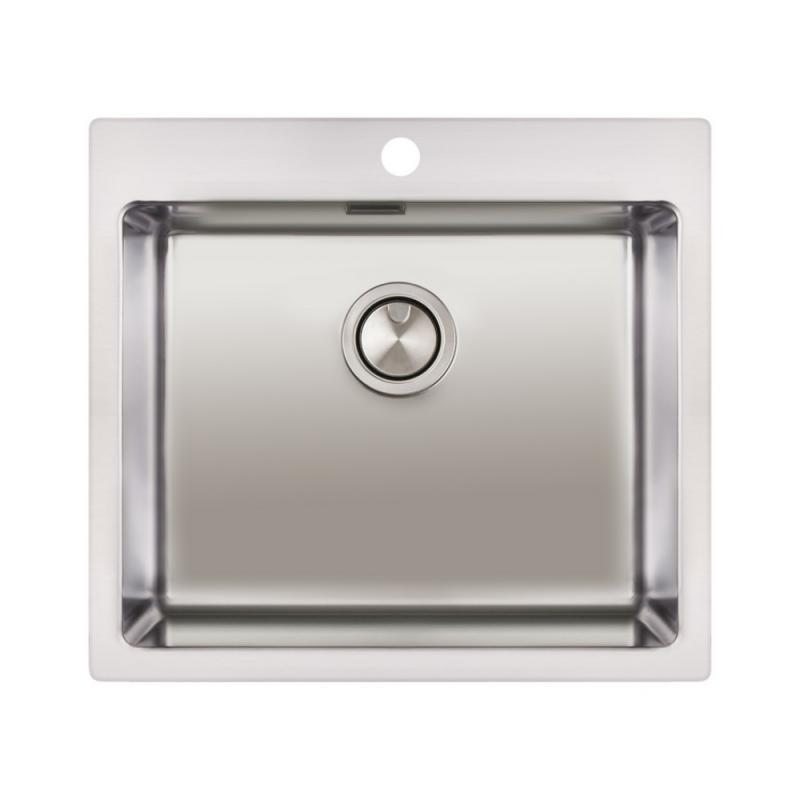 Кухонная мойка Apell Linear Plus LNP50FBC Brushed