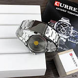 Curren 8375 Silver-Blue, фото 6