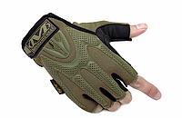 """Перчатки военные, тактические MECHANIX WEAR M-PACT (безпалі """"L, XL""""), тактичні рукавиці, фото 1"""