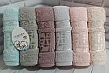 Полотенца махровые лицевые   Турция 6 штук в упаковке, фото 5
