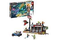Блоковий конструктор LEGO Hidden Side Атака с креветками / Нападение на закусочную 70422