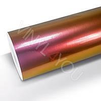 Пленка Глянцевый металлик хамелеон фиолетово-золотой