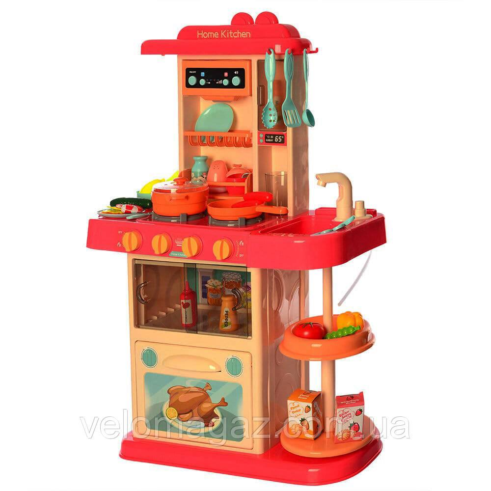 Детская кухня 889-182 LIMO TOY, h=72 см, льется вода, 38 предметов