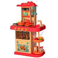 Детская кухня 889-182 LIMO TOY, h=72 см, льется вода, 38 предметов, фото 1