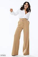 Широкие брюки с акцентной талией XS,S,M,L