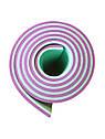 Килимок (каремат) 180*60*0.6 см для туризму і спорту Eva-Line двосторонній фіолетовий/бірюзовий, фото 3