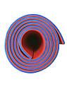 Килимок (каремат) 120*50*0.8 см для туризму і спорту Eva-Line двосторонній червоний/синій, фото 3