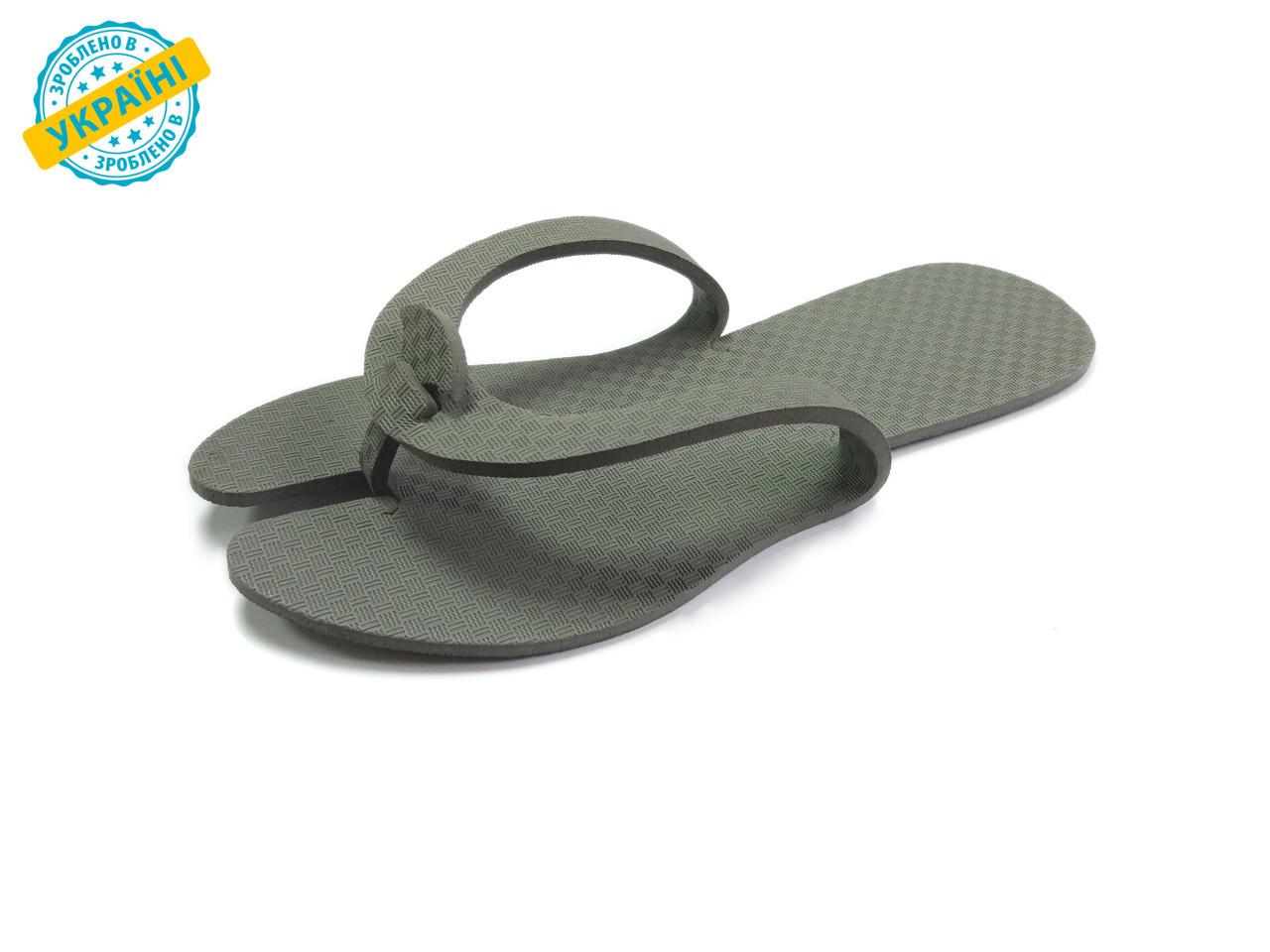 Одноразовые тапочки-вьетнамки(бабочки) для салонов мужские Eva-Line  3 мм