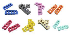 Растопырки для педикюра (разделители пальцев ног) Eva-Line .