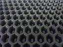 EVA материал для автоковриков (ЭВА листы) 2000*1200 мм черный Eva-Line сота, фото 2