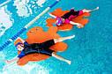Матрас для плаванья (плот для бассейна, доска для плаванья) из ЭВА Черепаха 950*900*30 мм, фото 2
