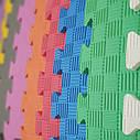 Коврик пазл, детский коврик, мягкий пол для зоны отдыха в школу, садик(Новая Украинская Школа), фото 4