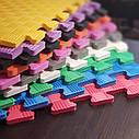 Коврик пазл, детский коврик, мягкий пол для зоны отдыха в школу, садик(Новая Украинская Школа), фото 8