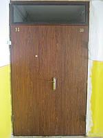Двері вхідні металеві
