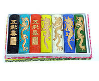 Туш для каліграфії набір 7 кольорів (7,8х1,8 см, коробка 15х9х1,8 см)