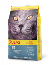 Сухой супер премиум корм Josera Leger Йозера Леже для малоактивных, пожилых и стерилизованных кошек 2 кг