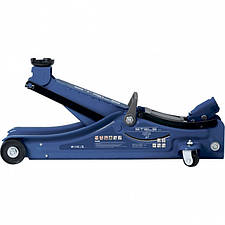 Домкрат гидравлический подкатной, 2 т, Low Profile, 80-380 мм, в пластиковом кейсе, Stels 51130