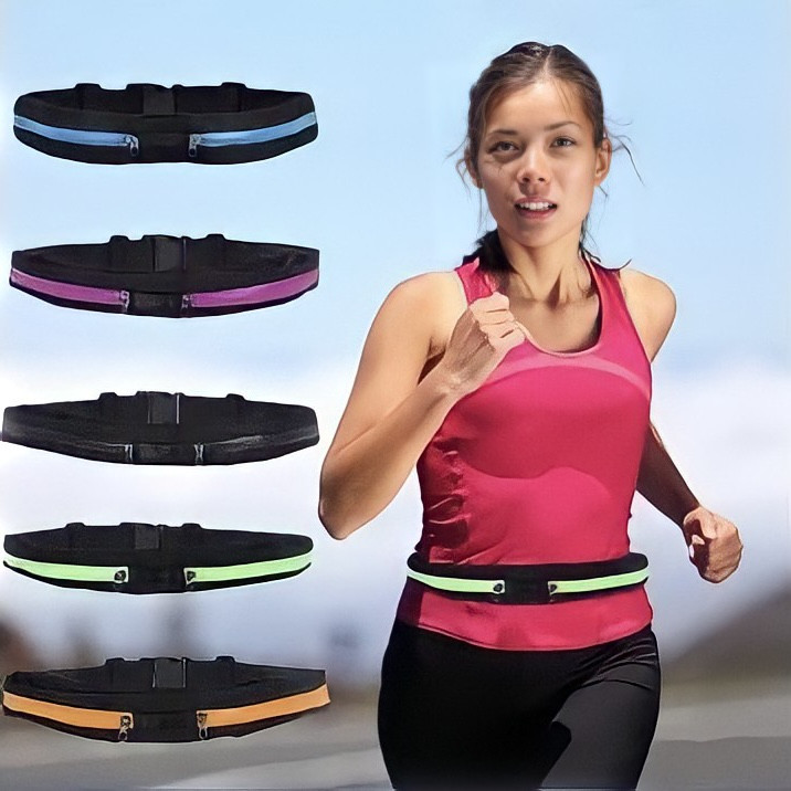 Спортивная сумка на пояс для бега   фитнес сумочка ремень   Go Runners Pocket Belt