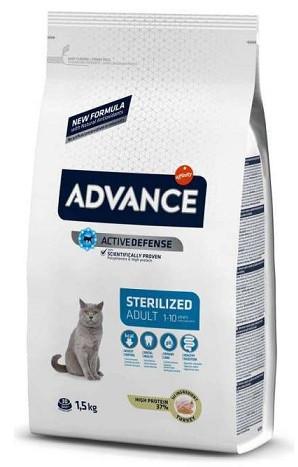 Advance (Эдванс) Cat Sterilized 15 кг Корм для стерилизованных кошек с индейкой