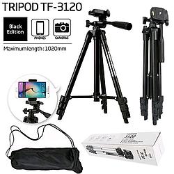 Штатив для телефону і камери Tripod 3120 (висота-102см)