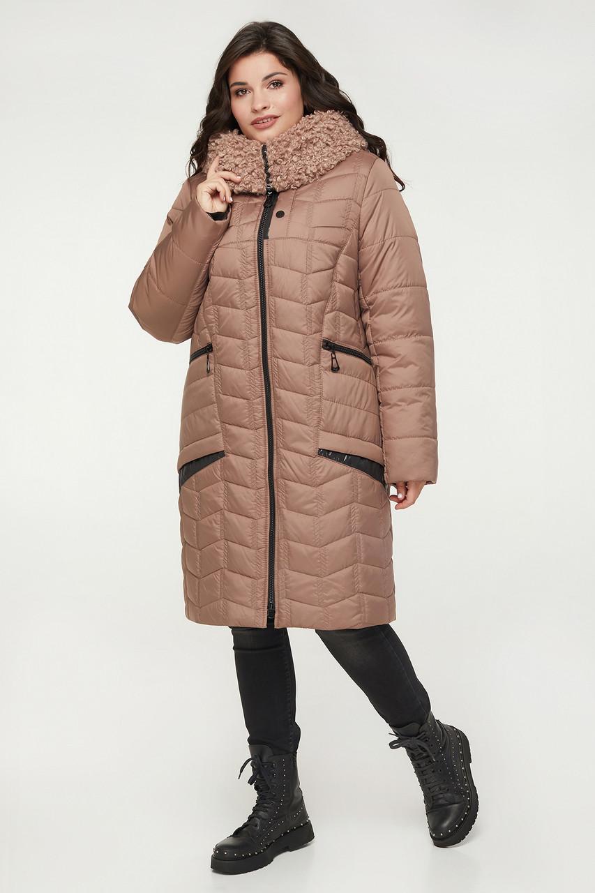 Куртка ТМ ALL POSA Олександрія фрез 52 (100358)