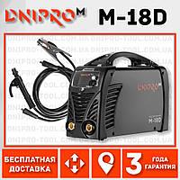 Сварочный аппарат IGBT Dnipro-M M-18D + Набор сварочных кабелей WS-3220AB