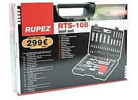 Набор инструментов Rupez RTS-108 ключи, набор головок