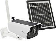 Уличная камера видеонаблюдения Y4P-4G с Sim картой 2 Мп с солнечной панелью, батареей