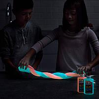 Клей для слаймов Elmer's Glow In The Dark Glue синий 147 мл, фото 2