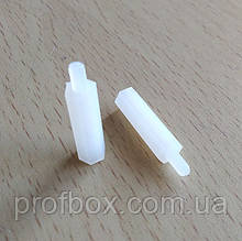 Стойка пластиковая гайка/винт М3х20+6