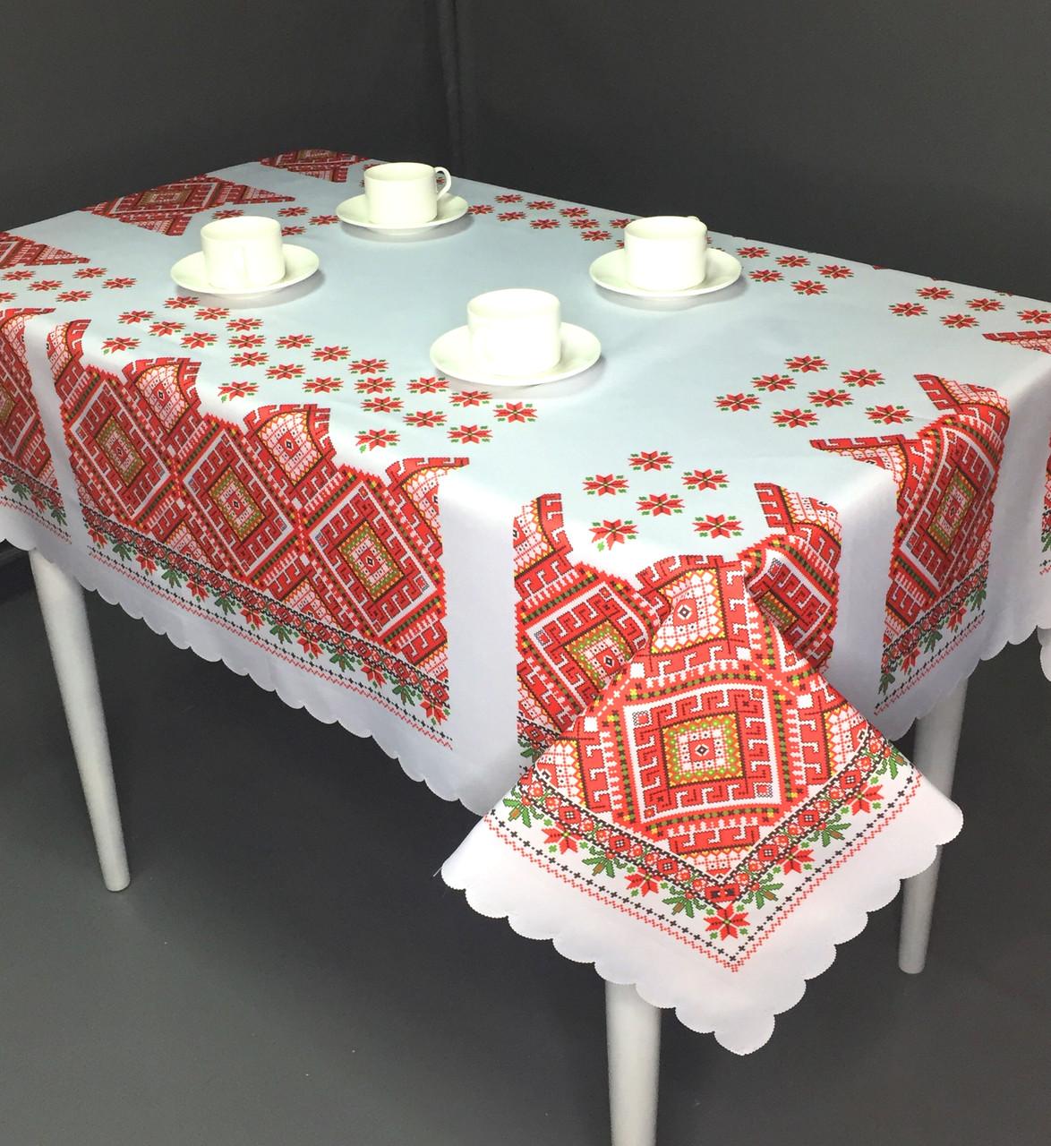 Скатерть в украинском стиле