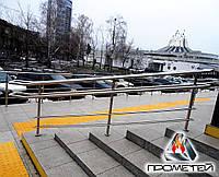 Разделители потока лестничные из нержавеющей стали под заказ в Харькове и Харьковской области