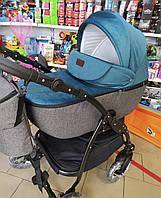Коляска 2в1 универсальная Classic колеса EVA, 4 амортизатора Классик Коляска для новорожденных