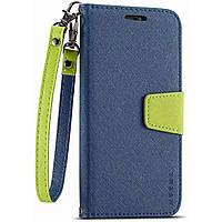 Чехол-книжка Muxma для Huawei P40 Lite E Blue