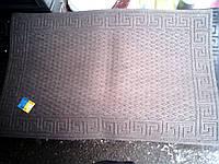 Коврик придверный на резиновой основе 116 см х 73 см производство Украина серый