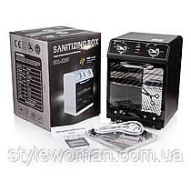Стерилизатор сухожар, духовой шкаф высокотемпературный SM-220 черный