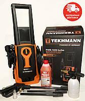 Мойка высокого давления Tekhmann PWB-1655 TURBO Автохимия в подарок+Бесплатная доставка