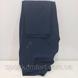 Тонкі літні спортивні штани Soccer прямі сині
