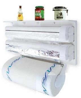 Кухонний диспенсер для плівки, фольги і рушників, фото 2
