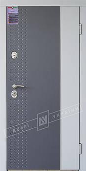 Входные двери ТМ Двери Украины серии Интер модель Леон уличные (комплектация Kale)