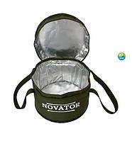 Термо відро для підгодовування Novator VD-3 20 л. (d.30х23 см)